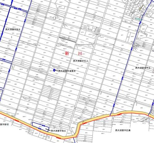 千葉県成田市行政区画変更住所変更の変更図1
