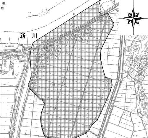 千葉県成田市行政区画変更住所変更の区域図2