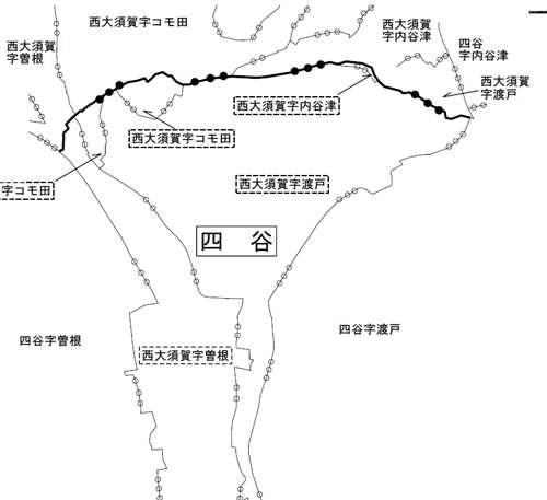 千葉県成田市行政区画変更住所変更の変更図4