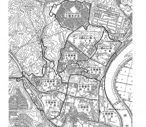 201302山口県山口市住居表示住所変更の区域図2