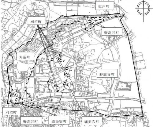 2013年03月栃木県宇都宮市住居表示住所変更の区域図2