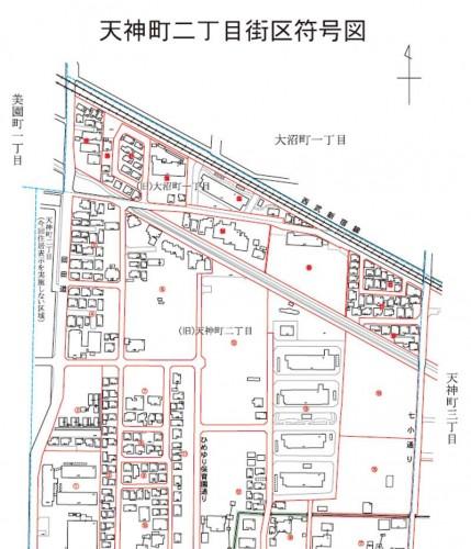 201310東京都小平市住居表示住所変更の区域図3