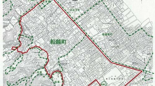 静岡県静岡市清水区住居表示住所変更02 船越町