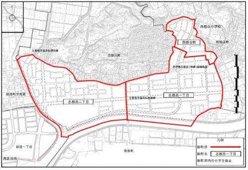 静岡県浜松市西区住居表示住所変更 2013年11月-2