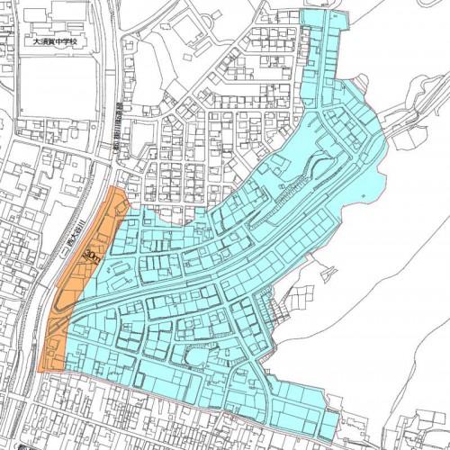 静岡県掛川市区画整理住所変更 2013年10月-1