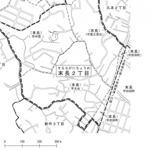 神奈川県川崎市高津区2013年11月18日住居表示住所変更区域図他2