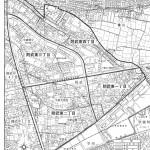 岐阜県岐阜市2014年2月17日住居表示住所変更区域図他1