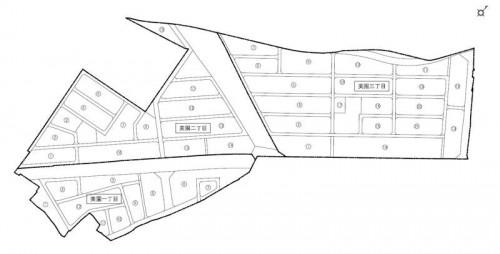 宮城県石巻市2014年2月22日区画整理事業住所変更区域図他3