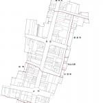 秋田県由利本荘市2014年2月15日区画整理事業住所変更区域図他2