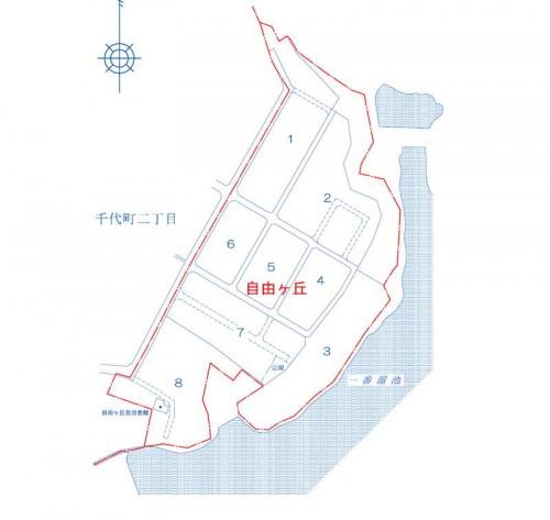 山口県山陽小野田市2014年2月22日住居表示住所変更区域図他2