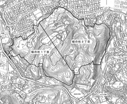 兵庫県神戸市須磨区2014年3月1日住居表示住所変更区域図 新町名