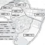 福岡県福津市2014年5月31日区画整理事業住所変更区域図他1