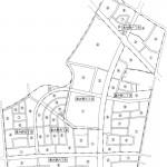 宮城県石巻市2014年5月10日区画整理事業住所変更番地図