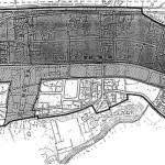 茨城県水戸市2014年8月30日区画整理事業住所変更区域図他1