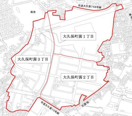 兵庫県明石市2014年9月27日住居表示住所変更区域図他2