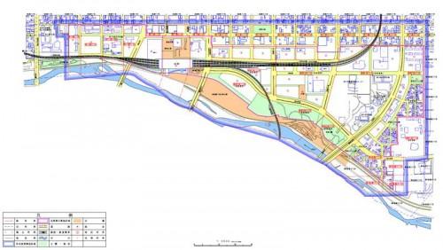 北海道旭川市2014年11月10日住居表示住所変更区域図他1