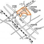 埼玉県上尾市2014年11月1日区画整理事業住所変更区域図他1