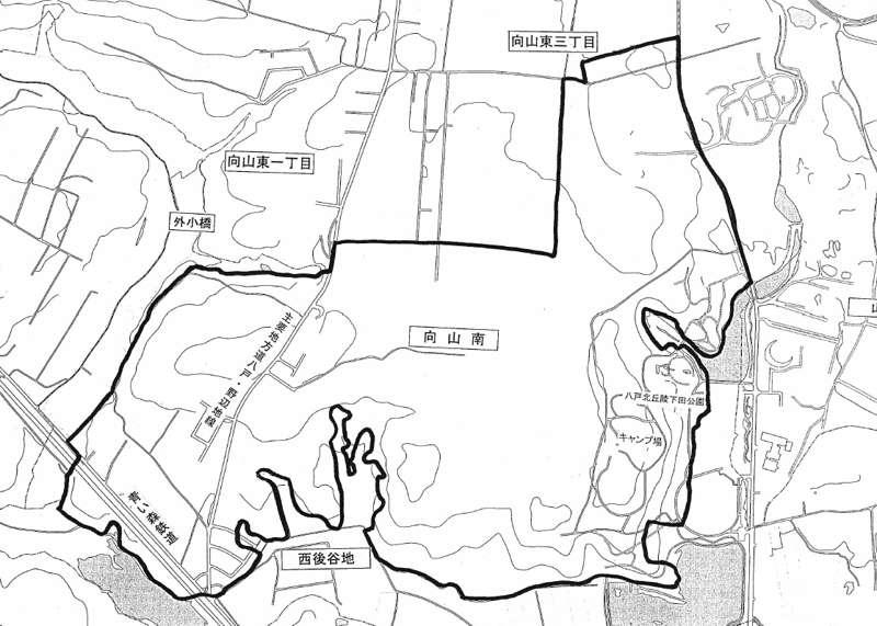 青森県上北郡おいらせ町2014年12月1日字の区域及び名称変更住所変更区域図他1