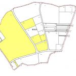 茨城県結城市2015年1月17日区画整理事業住所変更区域図他1