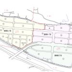 大分県大分市2015年1月10日住居表示住所変更区域図他1