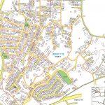 神奈川県平塚市2015年2月16日住居表示住所変更区域図他1