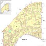 岐阜県岐阜市2015年2月2日住居表示住所変更区域図他1
