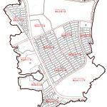 京都府木津川市2015年1月31日区画整理事業住所変更区域図他1