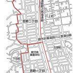 鹿児島県鹿児島市2015年2月2日住居表示住所変更区域図他1