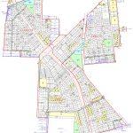 石川県金沢市2015年3月14日区画整理事業住所変更区域図他1
