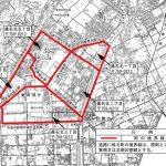 山口県宇部市2015年9月12日住居表示住所変更区域図他1