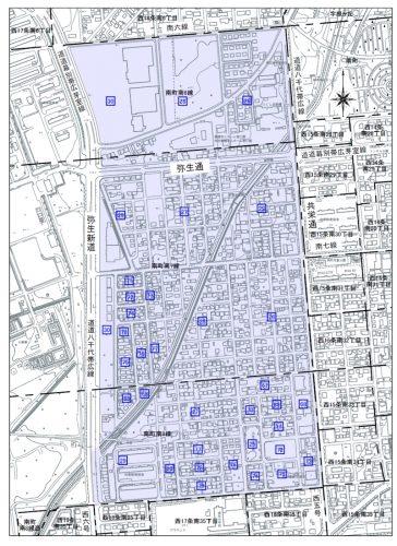 北海道帯広市2015年10月5日字の区域及び名称変更住所変更区域図他0