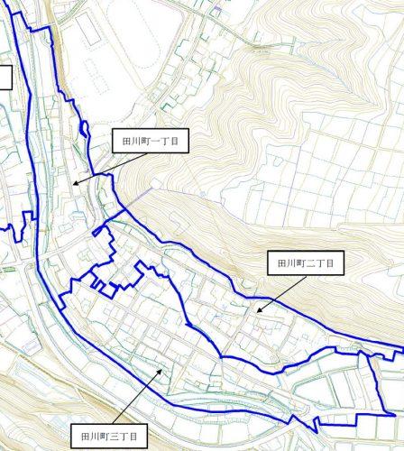 新潟県十日町市2015年11月16日町の区域及び名称変更住所変更区域図他2