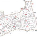 愛知県尾張旭市2015年11月21日区画整理事業住所変更区域図他1