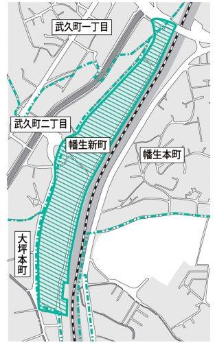 山口県下関市2015年12月1日町の区域及び名称変更住所変更区域図他