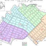 大分県大分市2016年1月9日住居表示住所変更区域図他1