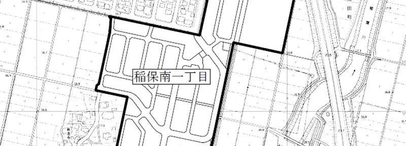 新潟県長岡市2016年2月27日町の区域及び名称変更住所変更区域図他1