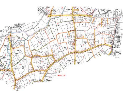 埼玉県川越市2016年3月7日町名地番変更住所変更区域図他2