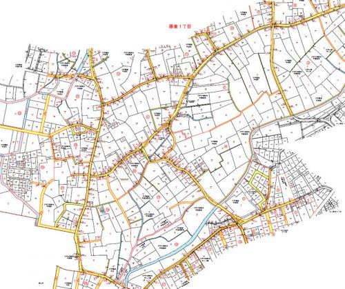 埼玉県川越市2016年3月7日町名地番変更住所変更区域図他3