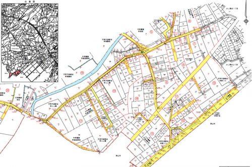 埼玉県川越市2016年3月7日町名地番変更住所変更区域図他4