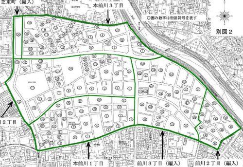 埼玉県川口市2016年3月1日住居表示住所変更区域図他2