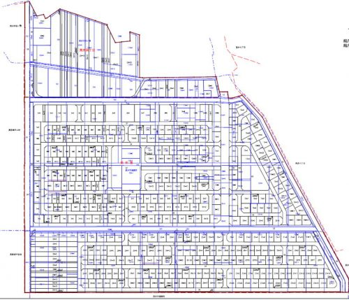 宮城県仙台市若林区2016年8月20日区画整理事業住所変更区域図他2