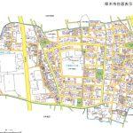 神奈川県厚木市2016年10月11日住居表示住所変更区域図他1
