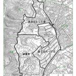 静岡県静岡市葵区2016年10月8日住居表示住所変更区域図他1