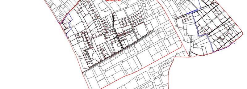千葉県野田市2016年10月29日区画整理事業住所変更区域図他1