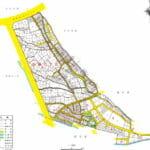 東京都国立市2016年11月21日町名地番変更住所変更区域図他1