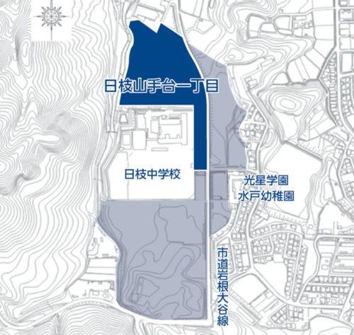 滋賀県湖南市2016年10月1日区画整理事業住所変更区域図他1