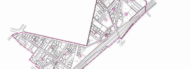 大阪府貝塚市2016年11月14日住居表示住所変更区域図他1