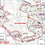 沖縄県中頭郡西原町2016年11月5日区画整理事業住所変更区域図他1