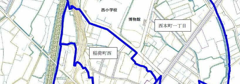 新潟県十日町市2016年11月12日町の区域及び名称変更住所変更区域図他1