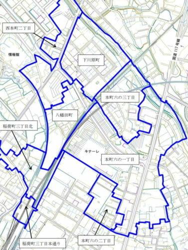 新潟県十日町市2016年11月12日町の区域及び名称変更住所変更区域図他2